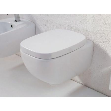 Hidra Dial Muszla klozetowa miska WC podwieszana 55x38x42 cm, biała DLW10006