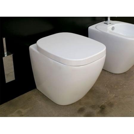 Hidra Dial Muszla klozetowa miska WC stojąca 55x38x42 cm, biała DL10