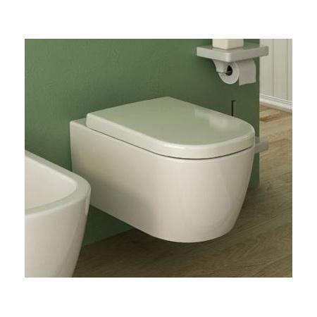 Hidra Faster Muszla klozetowa miska WC podwieszana 53x37x36 cm, czarna FAW10009