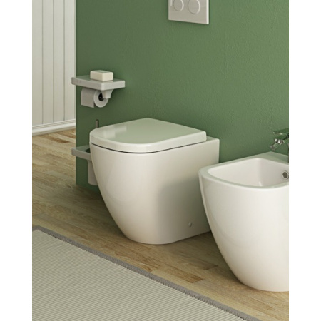 Hidra Faster Muszla klozetowa miska WC stojąca owalna 52,5x36,5xh42 cm, biała FA10