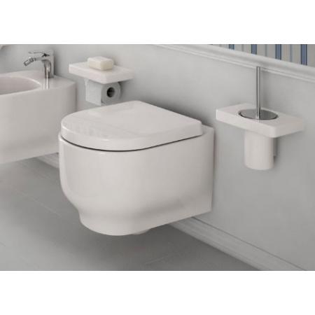 Hidra Gio Muszla klozetowa miska WC podwieszana 53x36x36 cm, czarna GW10009