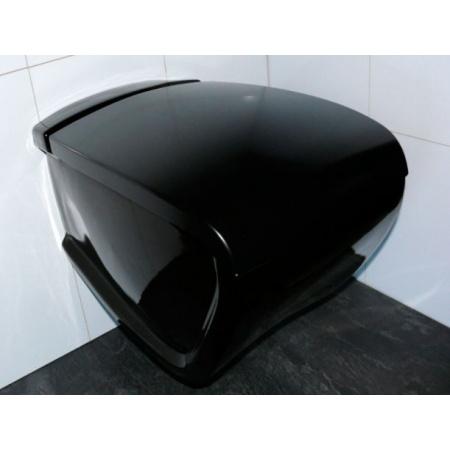 Hidra Hi-Line Muszla klozetowa miska WC podwieszana 54,5x38x46 cm, czarna HIW10009
