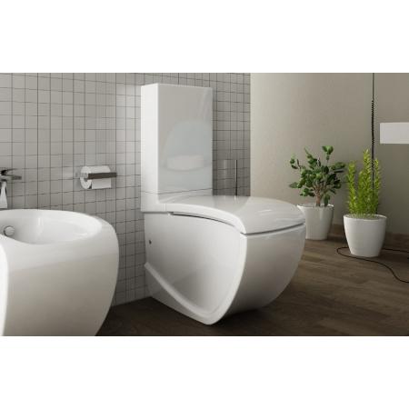 Hidra Hi-Line Zbiornik WC kompaktowy 32x15x46 cm, biały DL18