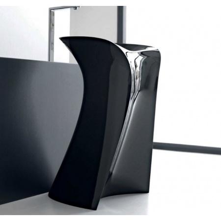 Hidra Miss Umywalka wolnostojąca 57x58x88 cm, czarna MI15009