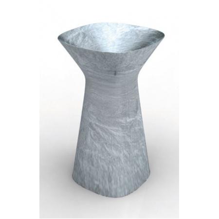 Hidra Mister Umywalka wolnostojąca 49x49x85 cm, srebrna MR15008