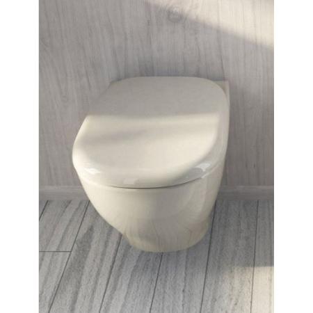 Hidra My Muszla klozetowa miska WC podwieszana 52x36x36,5 cm, biała MW10