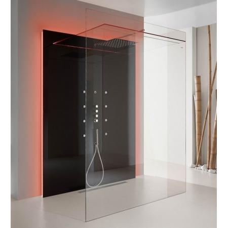 Hoesch Sensamare Delight Kabina prysznicowa 170x116cm z brodzikiem, czarna, szkło czarne 5752552