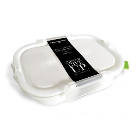 HPBA Pojemnik na posiłki 1,05 l, biały/zielony LBPD001