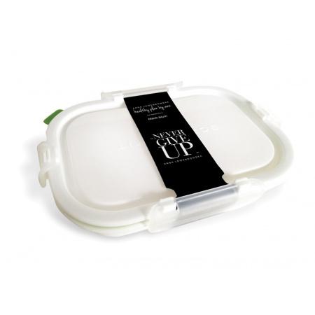 HPBA Pojemnik na posiłki 715 ml, biały/zielony LBPM001