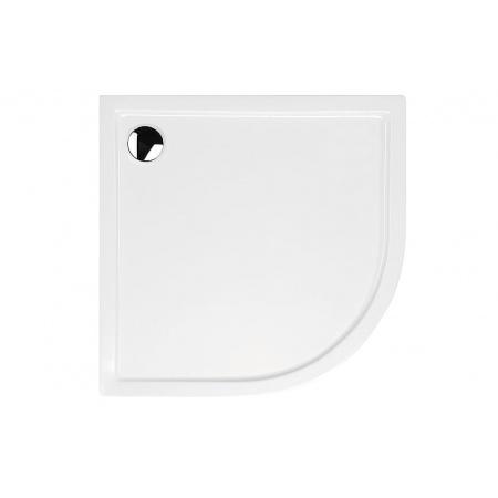 Huppe Xerano Brodzik 1/4 koła bez zintegrowanej obudowy 80x80x12 cm, biały 840402.055