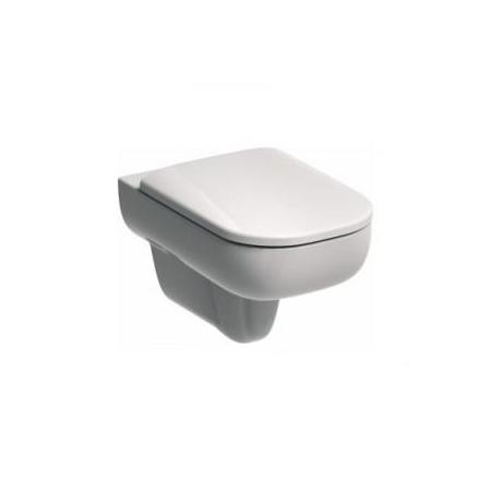 Koło Traffic Muszla klozetowa miska WC podwieszana 35x54x40 cm z powłoka Reflex, biała L93100900