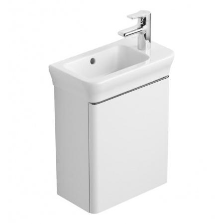 Ideal Standard Active Umywalka nablatowa 45x25 cm, z otworem na baterie, z przelewem, biała T054001