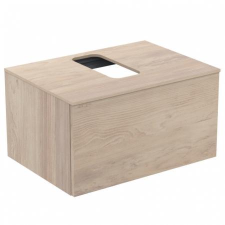 Ideal Standard Adapto Szafka podumywalkowa ścienna 70x50 cm, drewno jasnobrązowe U8595FF