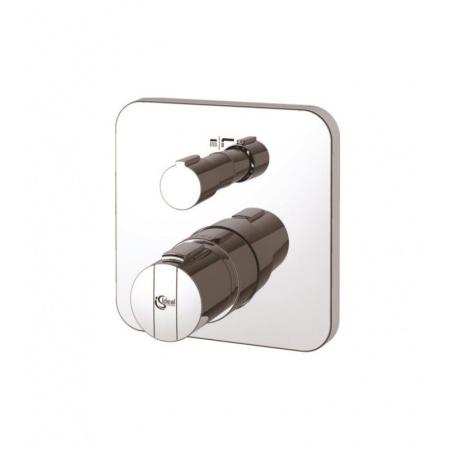 Ideal Standard Ceratherm 200 Bateria termostatyczna wannowa podtynkowa - wersja wyposażona w zawory zwrotne, chrom A5621AA