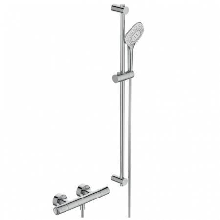 Ideal Standard Ceratherm T100 Zestaw prysznicowy natynkowy z termostatem chrom A7235AA