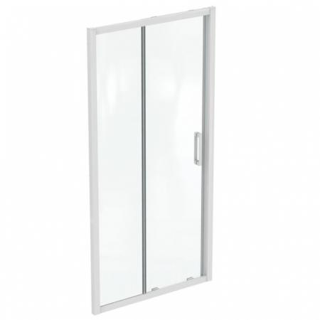 Ideal Standard Connect 2 Drzwi przesuwne 100x195,5 cm profile biały mat szkło przezroczyste K968001