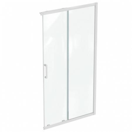 Ideal Standard Connect 2 Drzwi przesuwne 110x195,5 cm profile biały mat szkło przezroczyste K967001