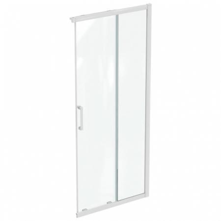Ideal Standard Connect 2 Drzwi przesuwne 90x195,5 cm profile biały mat szkło przezroczyste K966801