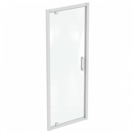 Ideal Standard Connect 2 Drzwi uchylne 77x195,5 cm profile biały mat szkło przezroczyste K967501