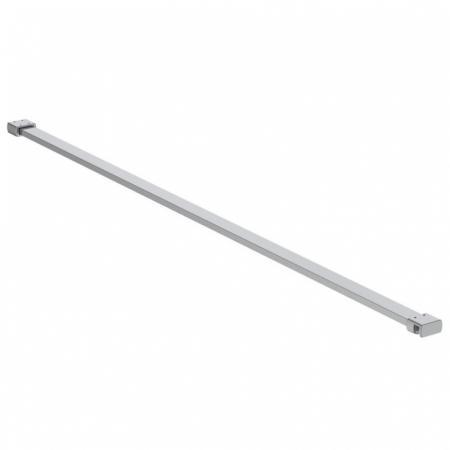 Ideal Standard Connect 2 Wspornik prosty 100 cm do ścianki bocznej srebrny K9380VA