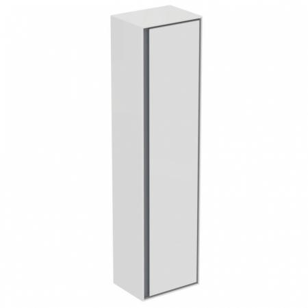 Ideal Standard Connect Air Szafka łazienkowa wisząca 40x160x30 cm, biała/jasnoszara mat E0832KN