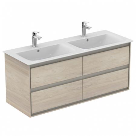 Ideal Standard Connect Air Szafka pod umywalkę 120x51,7x44 cm, jasnobrązowe drewno/jasnobrązowa mat E0822UK