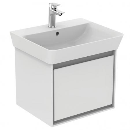 Ideal Standard Connect Air Szafka pod umywalkę 48x40x40,9 cm, biała/jasnoszara mat E0844KN