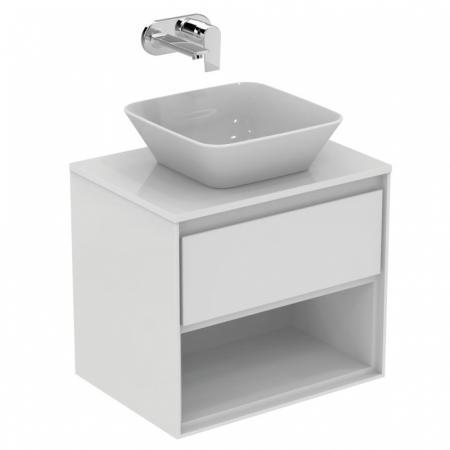 Ideal Standard Connect Air Szafka pod umywalkę 60x51,7x44 cm, biała/biała mat E0826B2