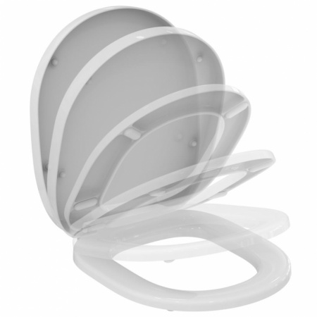 Ideal Standard Connect Deska sedesowa wolnoopadająca z duroplastu, biała E712701