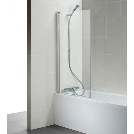 Ideal Standard Connect Ekran do wanny prostokątny 80x140 cm, profil srebrny, szkło przeźroczyste T9923EO