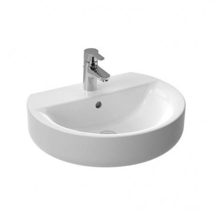 Ideal Standard Connect Umywalka podwieszana 55 cm, otwór na baterie, biała E786401