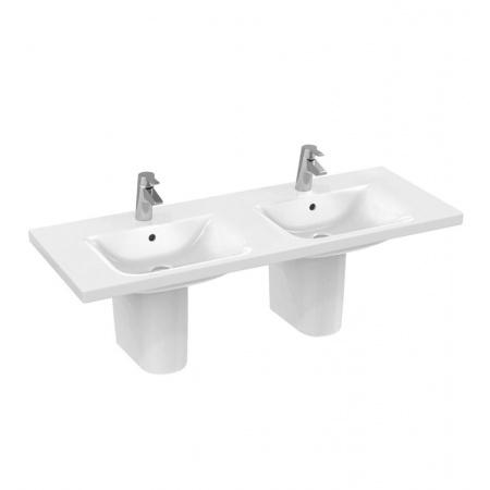 Ideal Standard Connect Umywalka podwieszana podwójna 130x49 cm, biała E813601