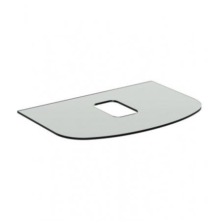 Ideal Standard Dea Blat szklany 80x54x1 cm, bez otworu na baterię, biały T7870SA
