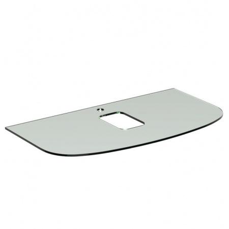 Ideal Standard Dea Blat szklany z otworem na baterie 100x54x1 cm, biały T7868SA