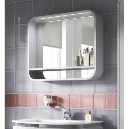Ideal Standard Dea Lustro podwieszane z półką 100x15x65 cm, jasnoszare T7863S2