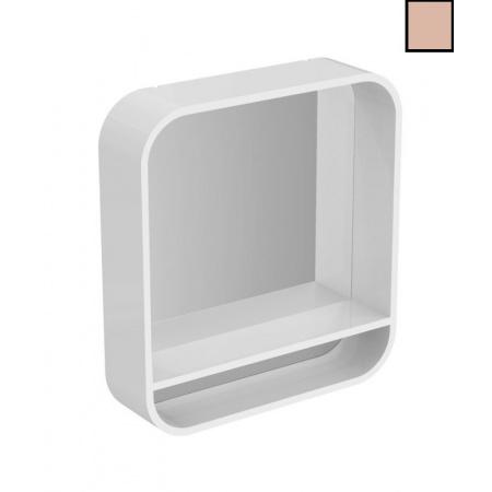 Ideal Standard Dea Lustro podwieszane z półką 60x15x65 cm, beżowe T7861S3