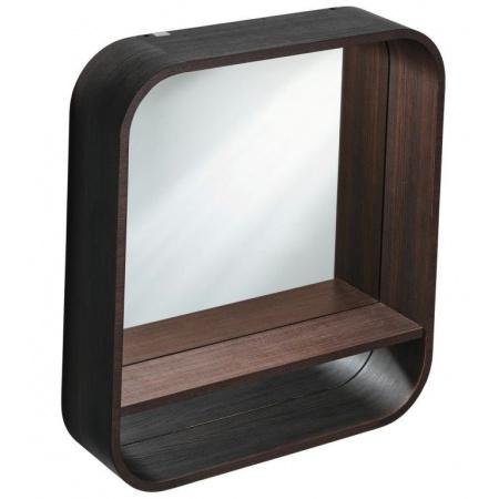 Ideal Standard Dea Lustro podwieszane z półką 60x15x65 cm, ciemny modrzew T7861S9