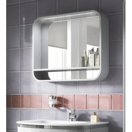 Ideal Standard Dea Lustro podwieszane z półką 80x15x65 cm, jasnoszare T7862S2