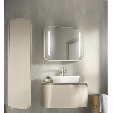 Ideal Standard Dea Szafka podwieszana z lustrem 60x15x65 cm, jasnoszara T7854S2