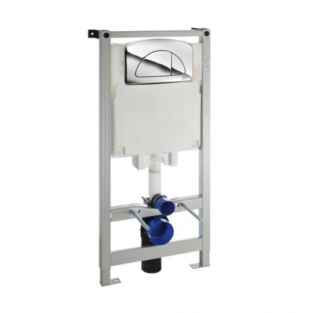Ideal Standard Eco Systems Diamante Evo Stelaż podtynkowy WC z przyciskiem, chrom C0067AA