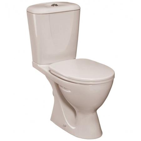 Ideal Standard Eurovit Kompakt WC 35x63 cm, odpływ poziomy, w komplecie z deską, biały W904201