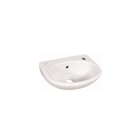 Ideal Standard Eurovit Umywalka podwieszana 35 cm, z otworem po lewej stronie, biała E147501