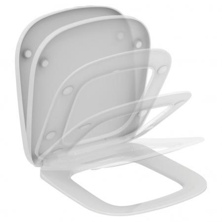 Ideal Standard Esedra Deska sedesowa 41x36,5 cm, biała T318301