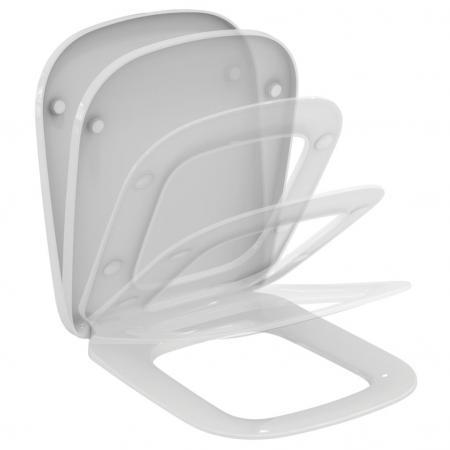 Ideal Standard Esedra Deska sedesowa wolnoopadająca 44,5x36,5 cm, biała T318101
