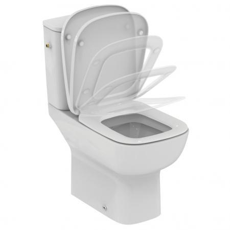 Ideal Standard Esedra Miska WC kompakt stojąca 36,5x66,5 cm, biała T283401