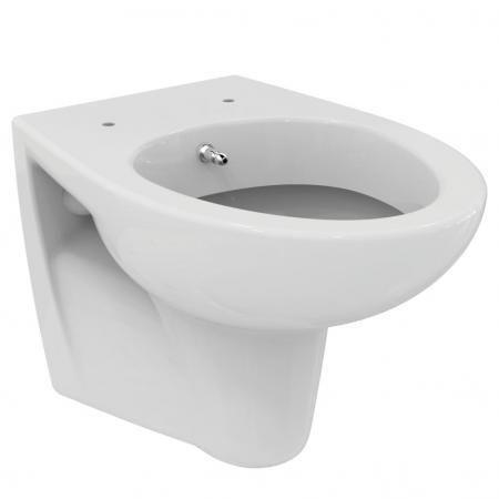 Ideal Standard Eurovit Miska WC wisząca 52x36 cm z funkcją bidetu, biała W705501