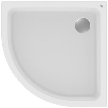 Ideal Standard Hotline New Brodzik półokrągły 80x80 cm, biały K277901