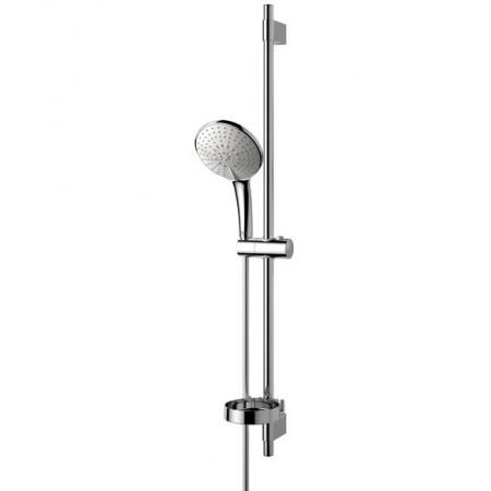 Ideal Standard Ideal Rain Zestaw natryskowy XL, drążek 90 cm, z trzyfunkcyjną słuchawką, chrom B9434AA