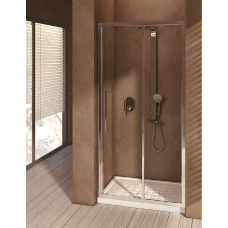 Ideal Standard Kubo Drzwi przesuwne 115 cm, profile chrom, szkło przeźroczyste T7332EO