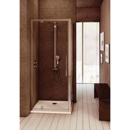 Ideal Standard Kubo Drzwi przysznicowe 85 cm, profile chrom, szkło satynowe T7311EO